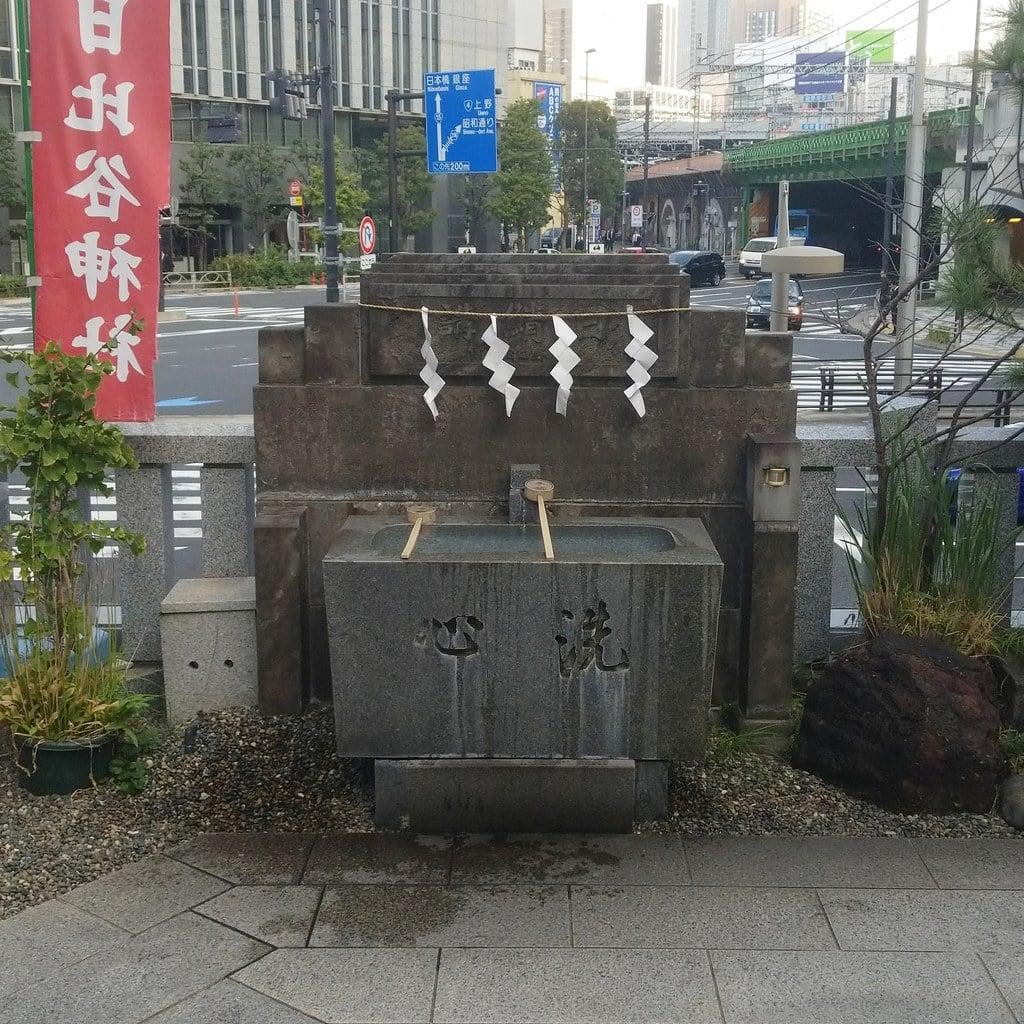 日比谷神社の手水