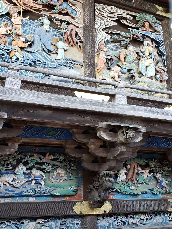 雷電神社の芸術