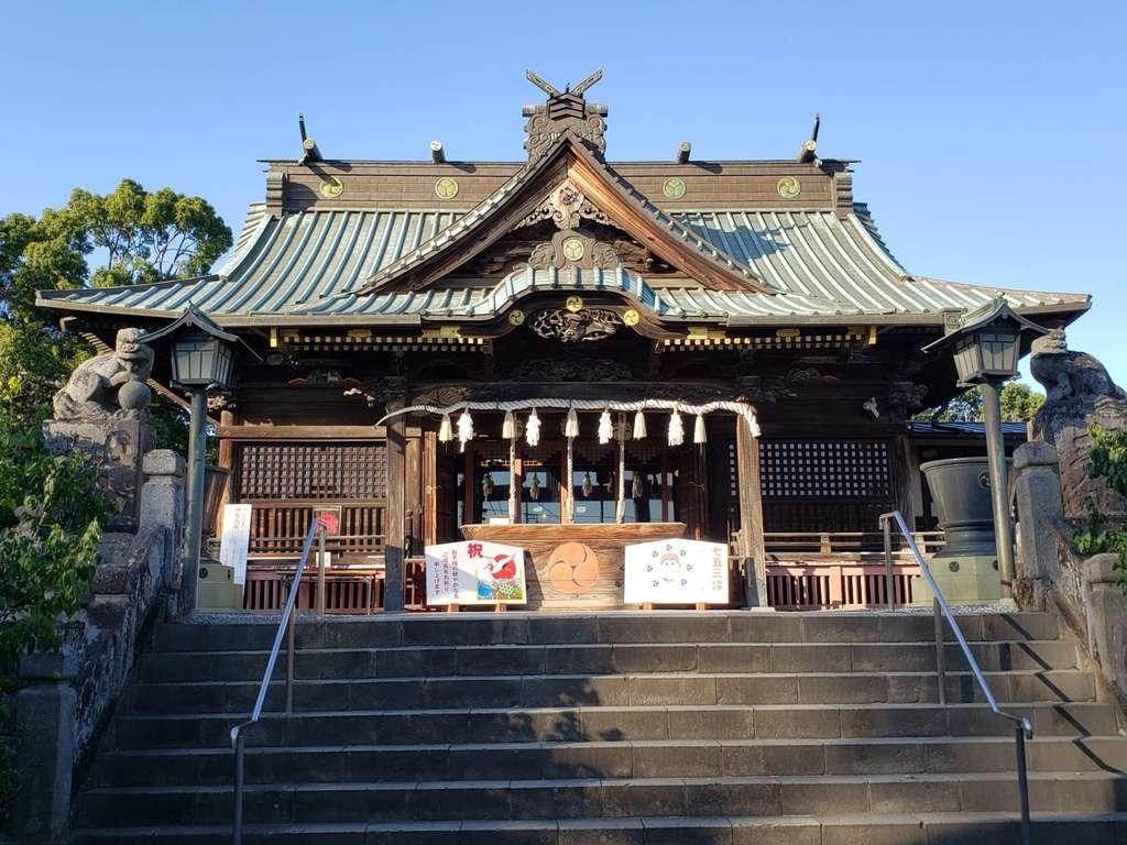雷電神社の本殿