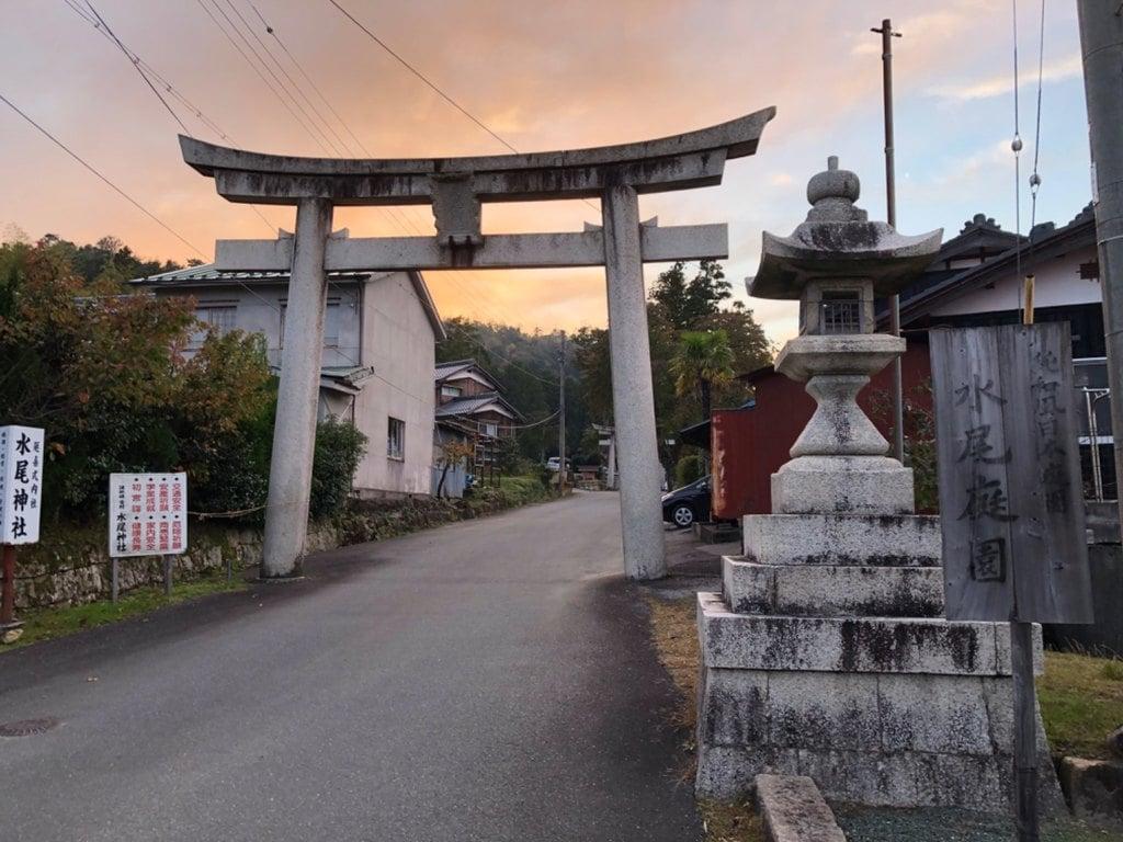 水尾神社の鳥居