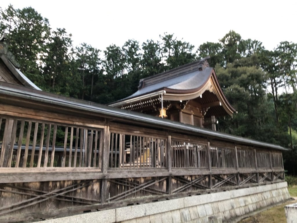 水尾神社の本殿