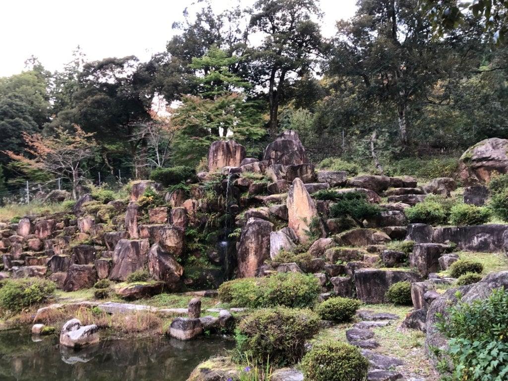 水尾神社の庭園
