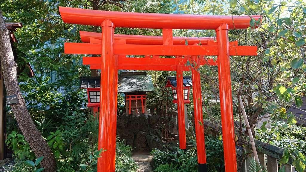 六本木天祖神社の末社