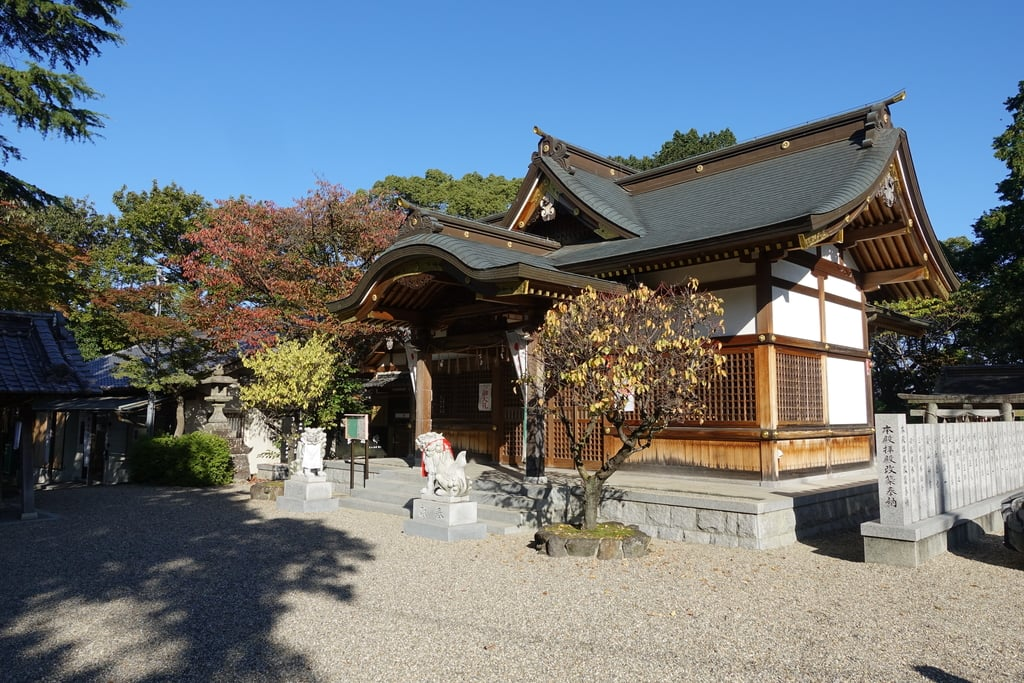 国中神社の本殿