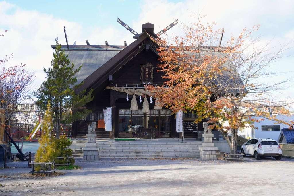 龍宮神社の本殿