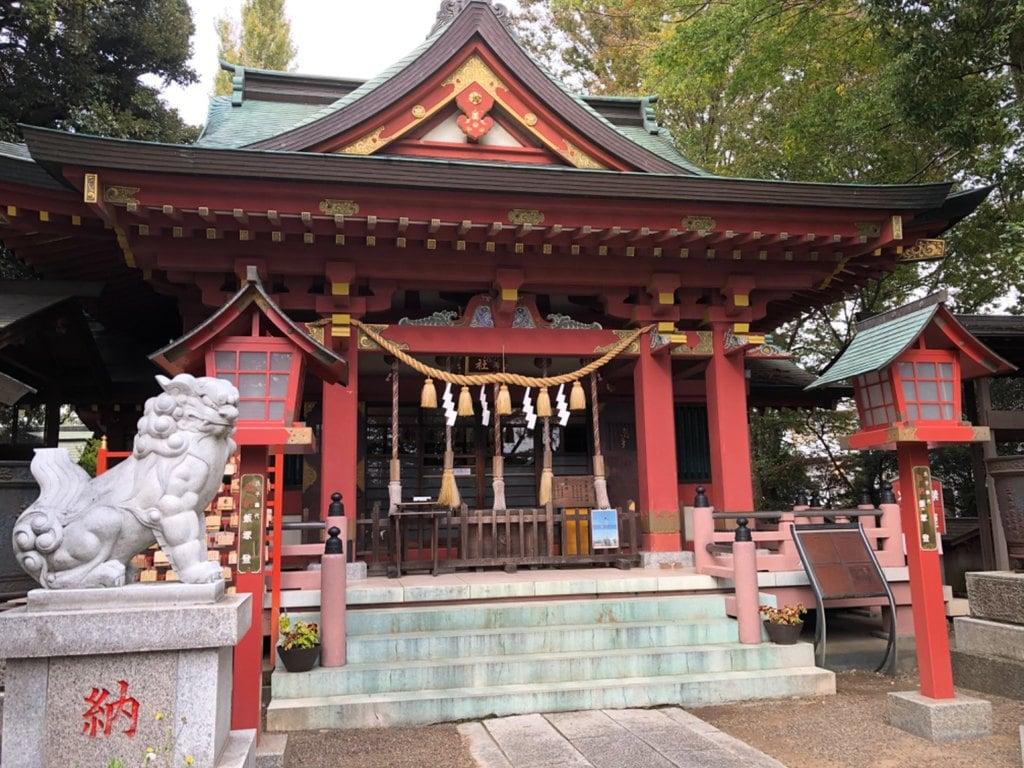 前川神社の本殿