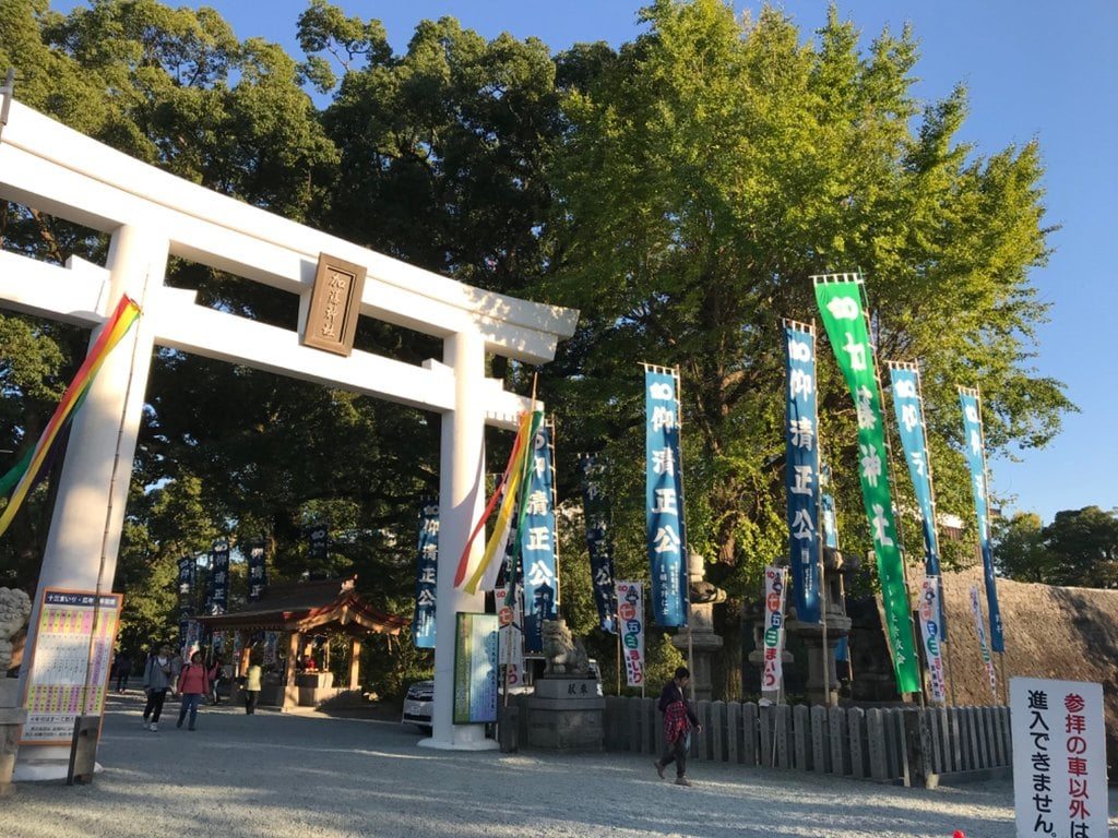 加藤神社の鳥居
