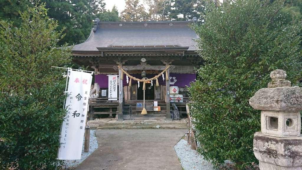 秋保神社の本殿