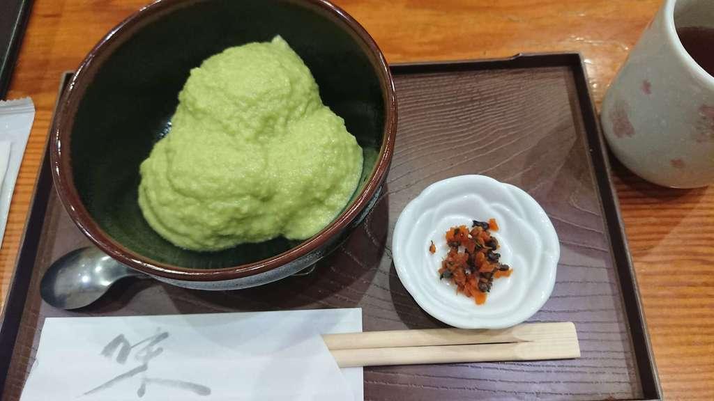 秋保神社の食事