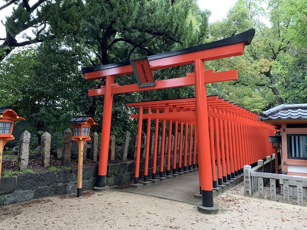 服部住吉神社の鳥居