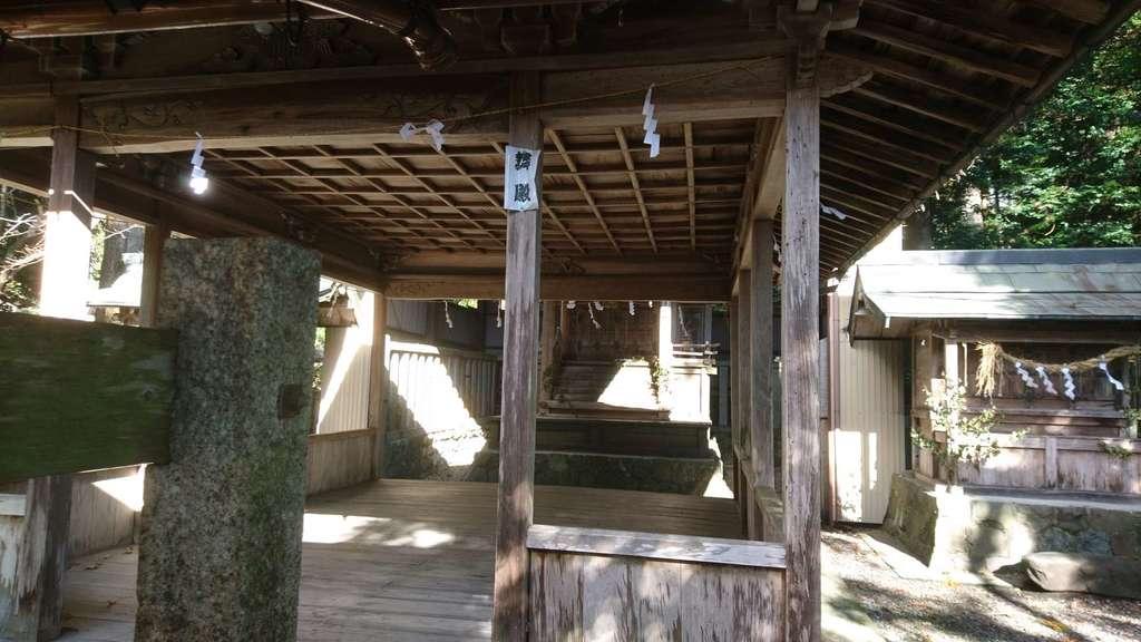 天鷹神社の本殿