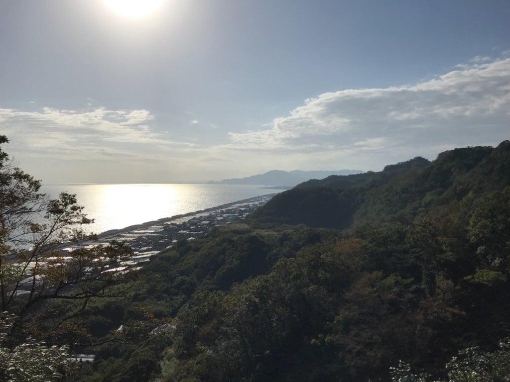 久能山東照宮の景色
