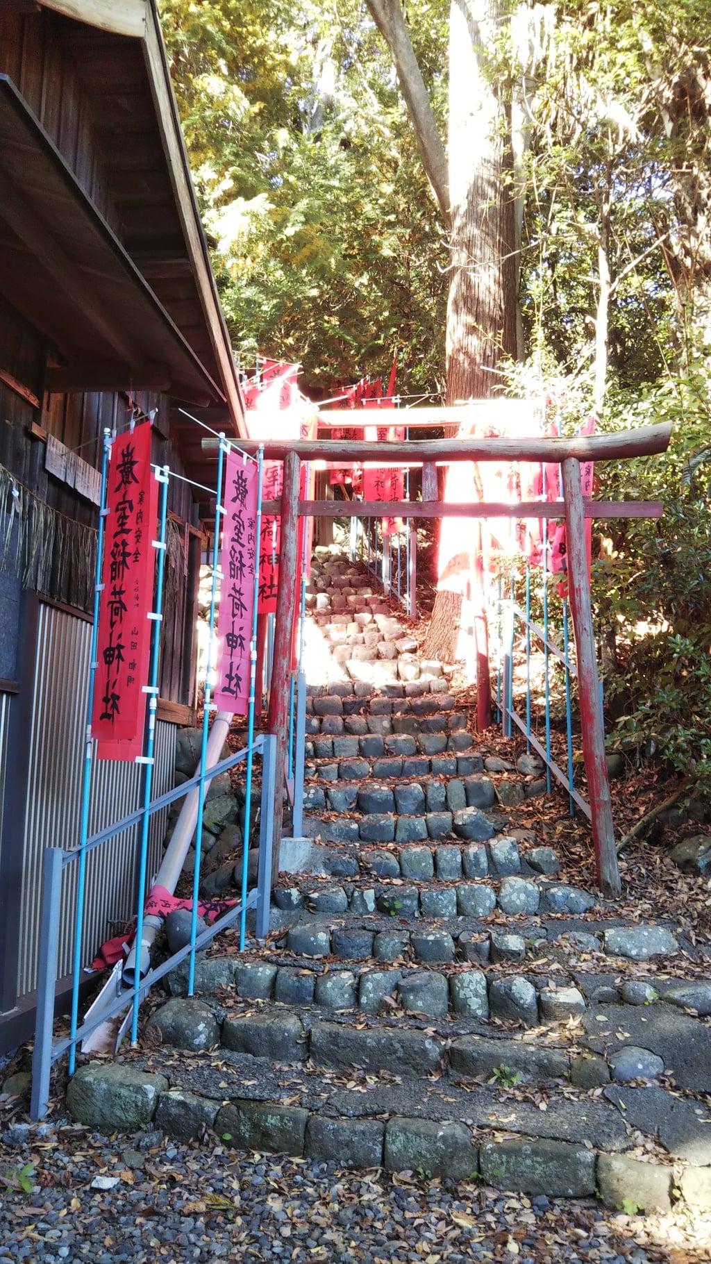 巖室神社の鳥居
