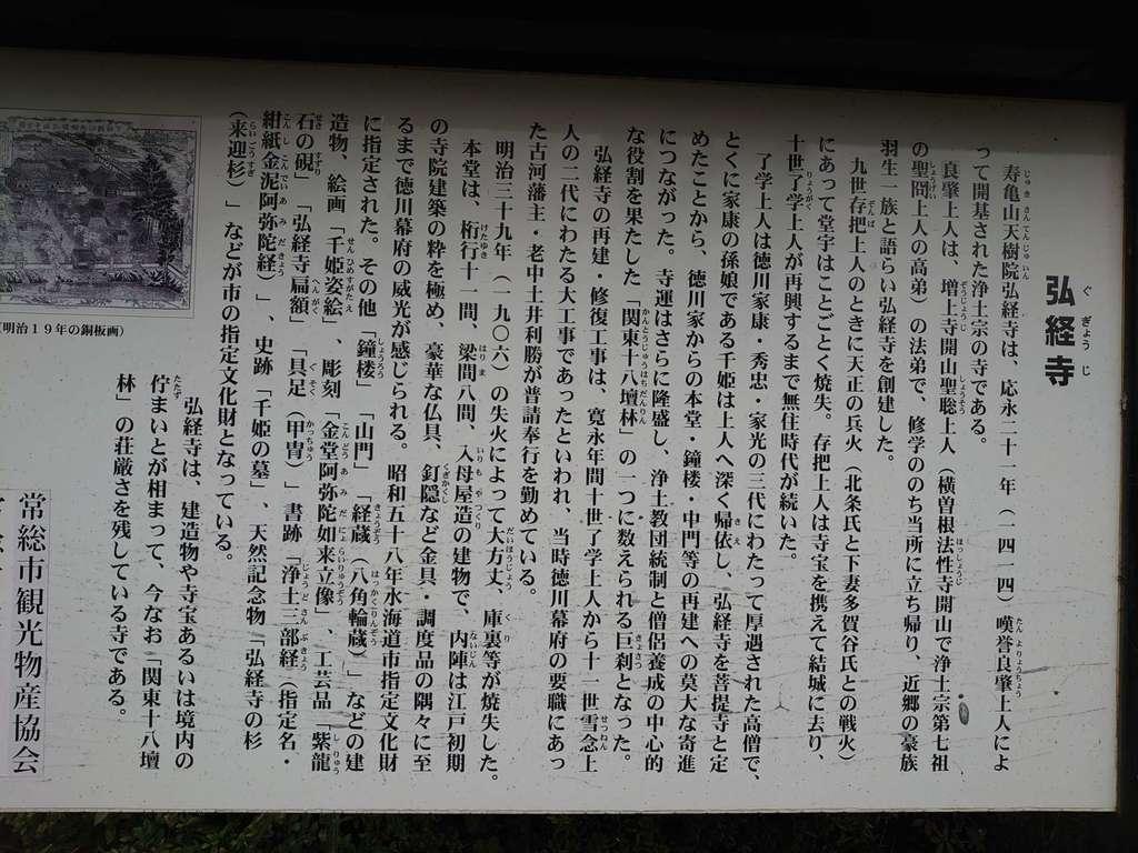 弘経寺の歴史