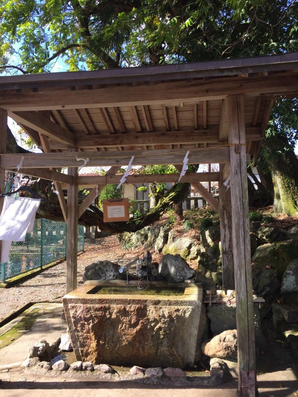 天鷹神社の手水