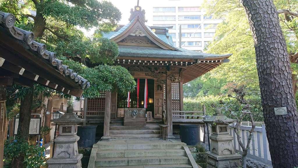 廣尾稲荷神社の本殿
