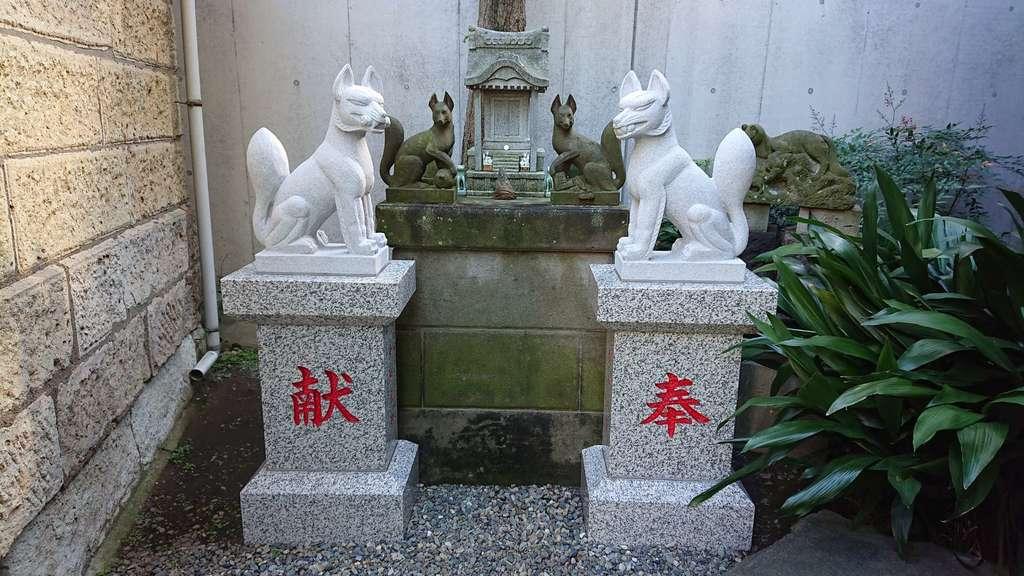 廣尾稲荷神社の狛犬