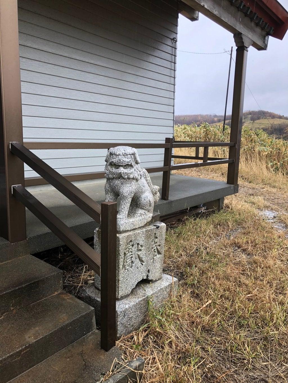 厚田八幡神社の狛犬