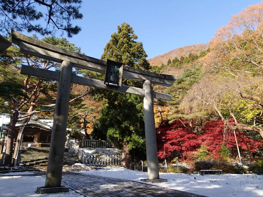 函館八幡宮の鳥居