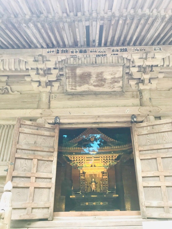 円通院の本殿