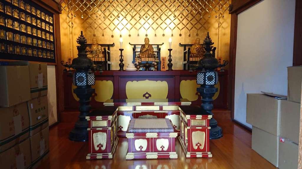成田山川越別院の像