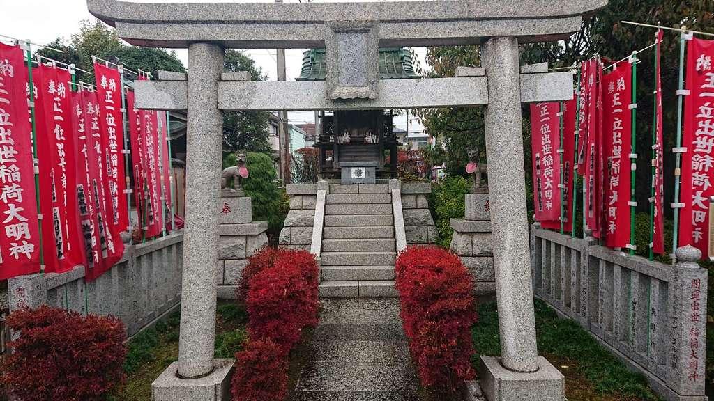 成田山川越別院の鳥居