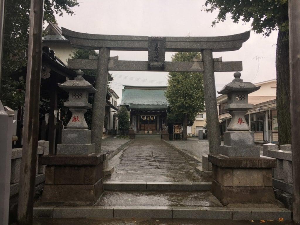 東林間神社の鳥居