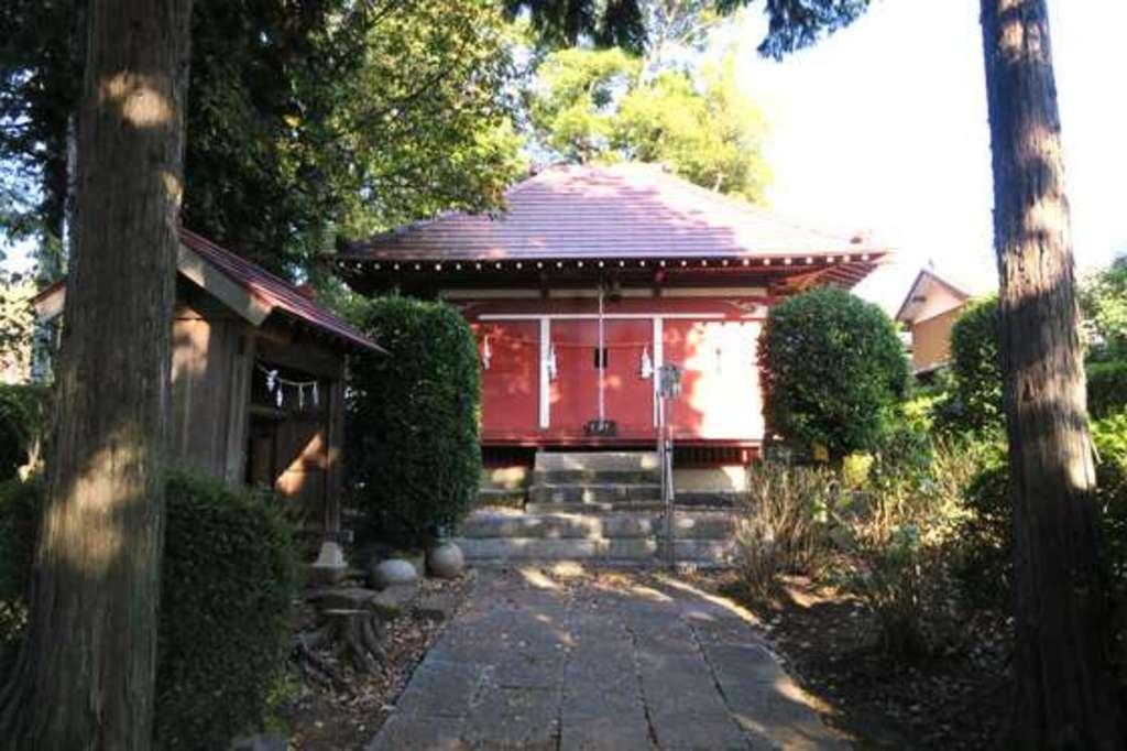 安行氷川神社の本殿