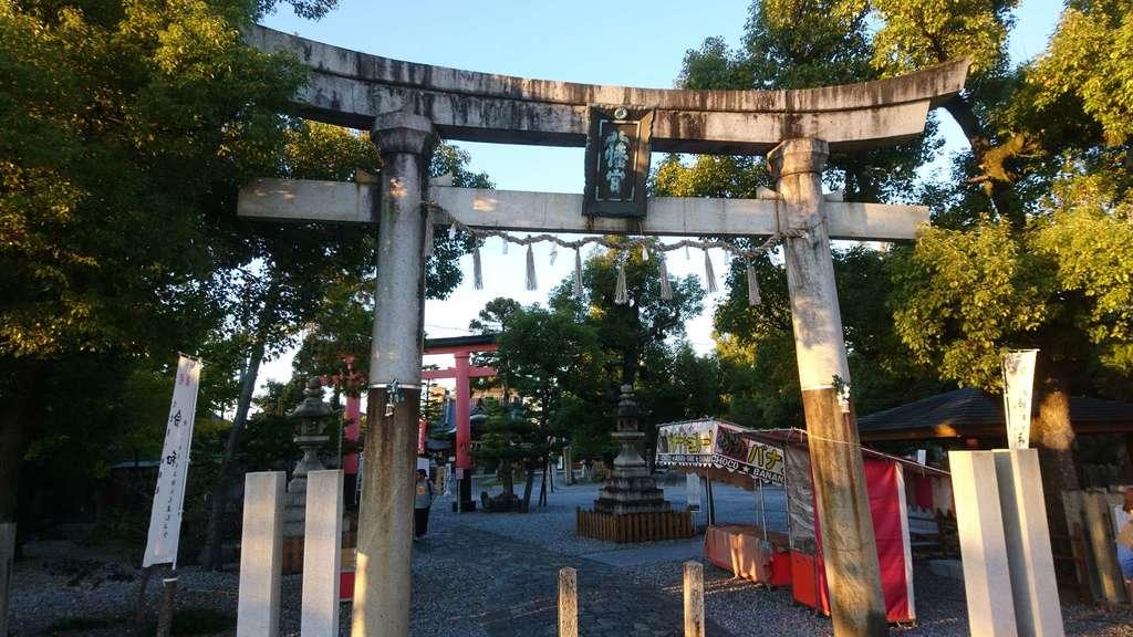 大垣八幡神社の鳥居