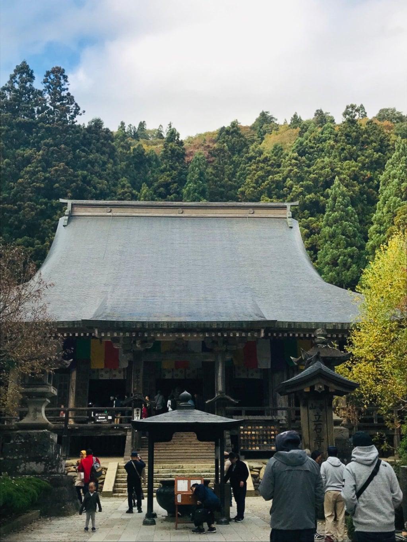 宝珠山 立石寺の本殿