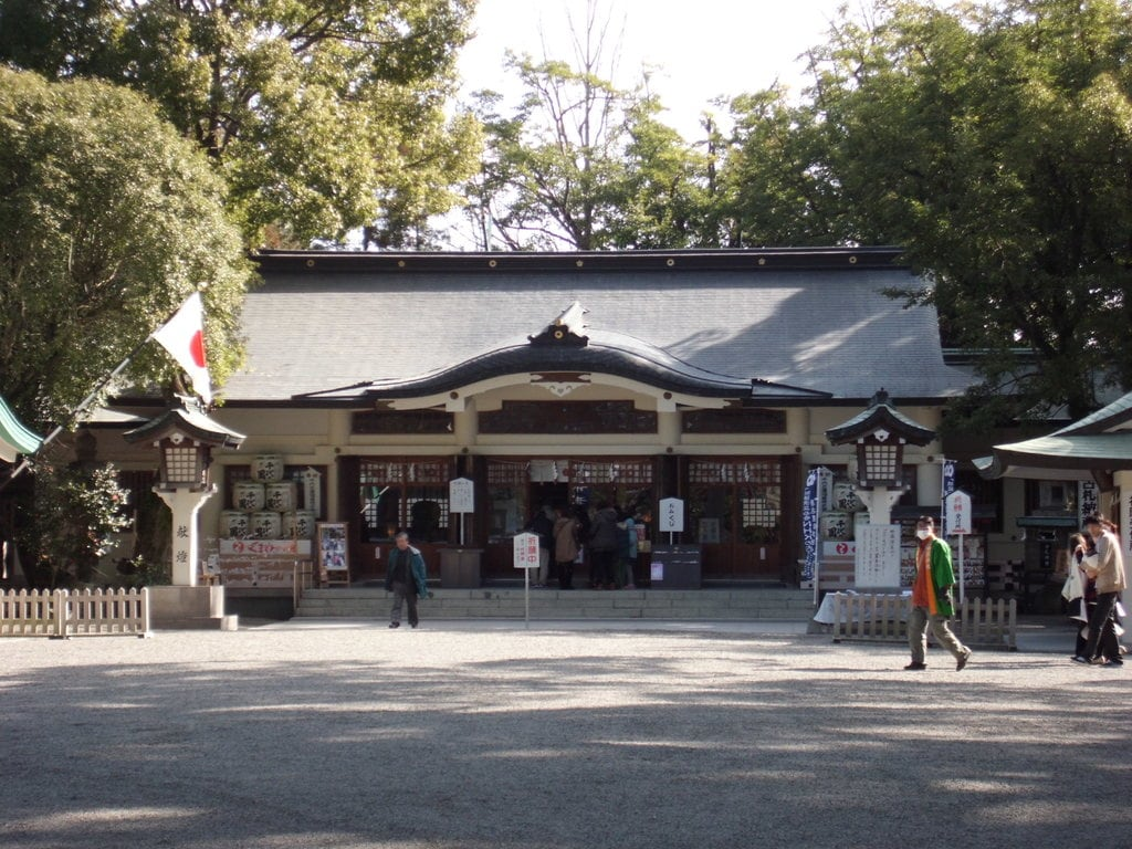 加藤神社の本殿