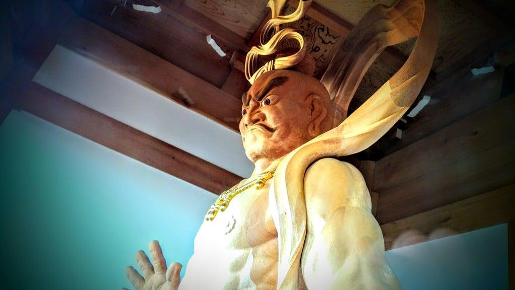 待暁山 彌勒寺の仏像