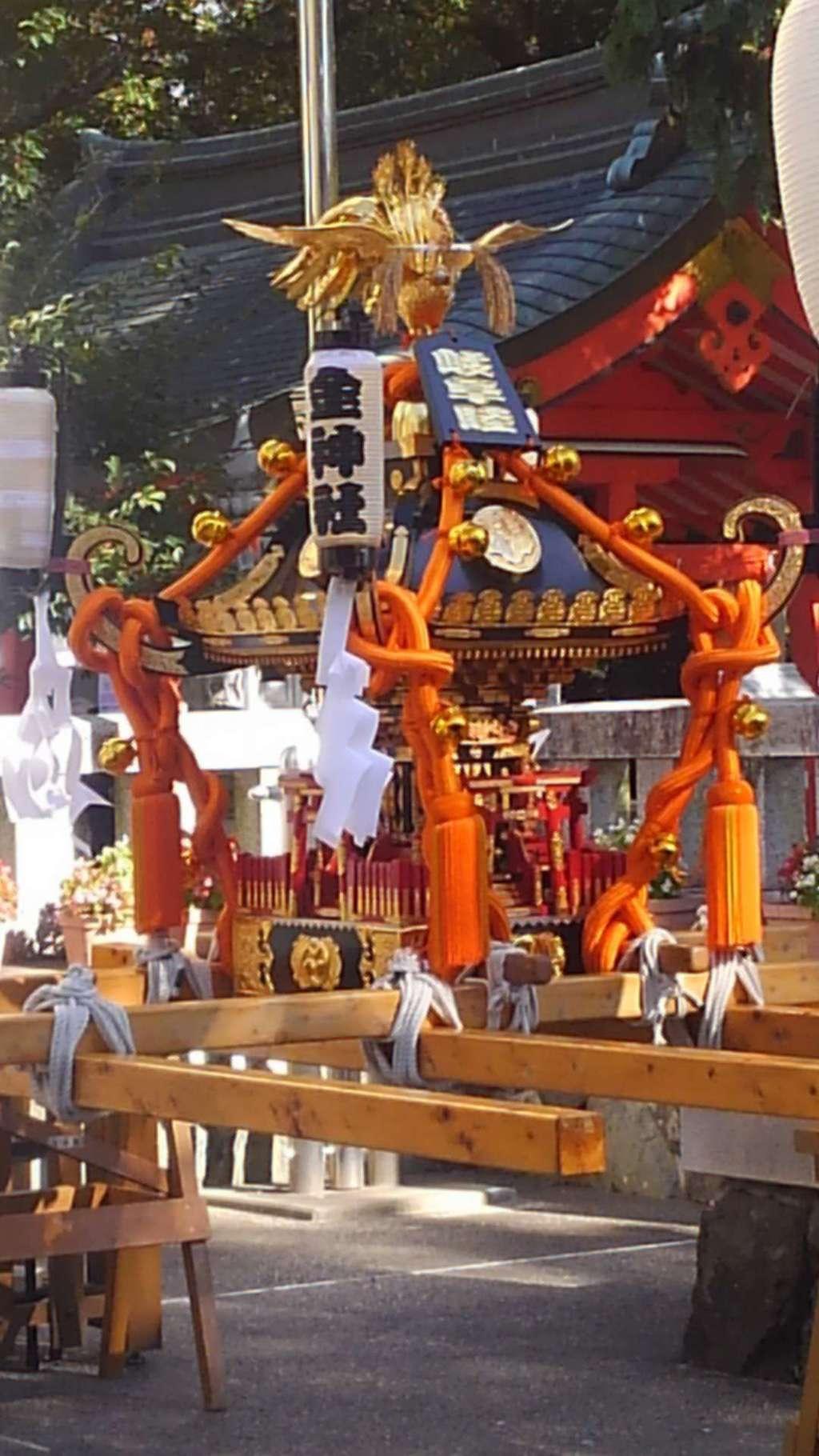 金神社のお祭り
