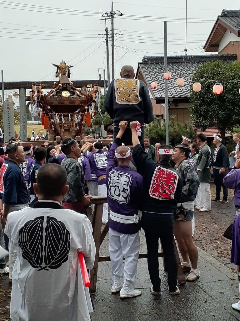 大生郷天満宮のお祭り