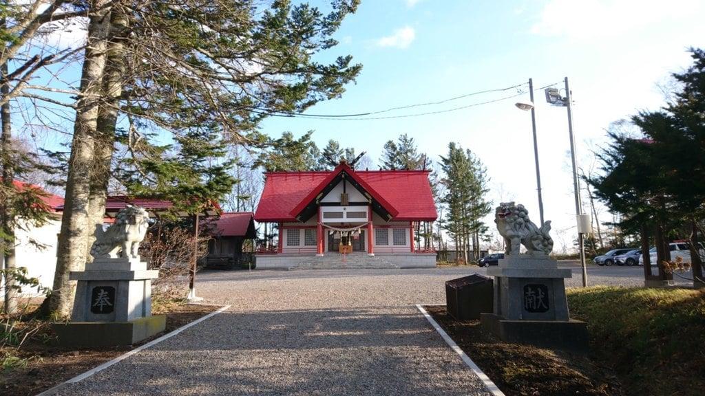 中標津神社の本殿
