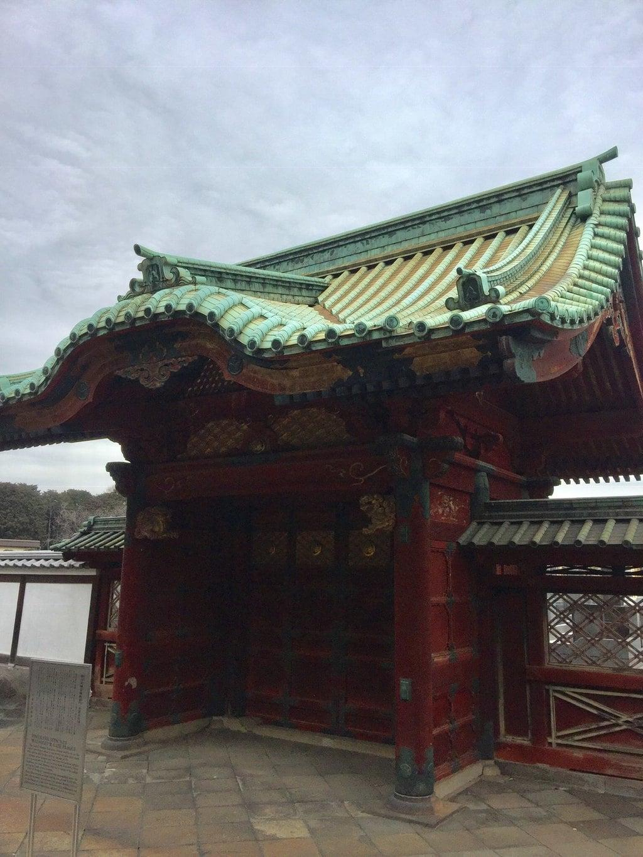 寛永寺の山門