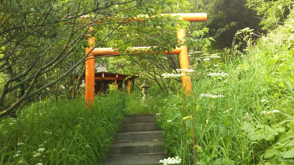 伊丹来稲荷神社の鳥居