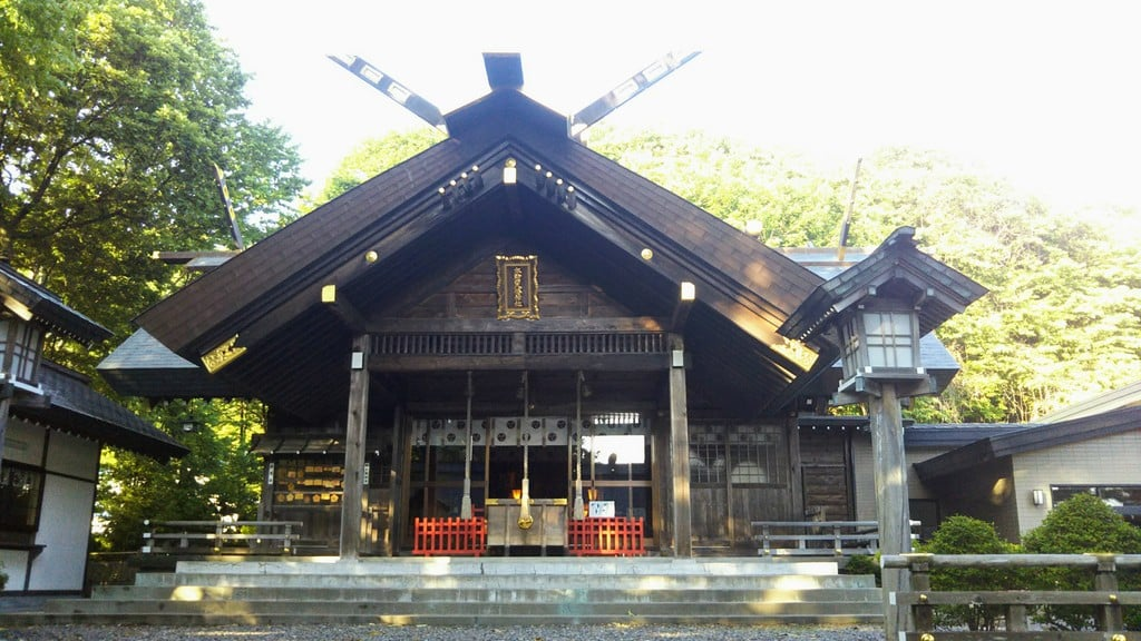 本輪西八幡神社の本殿