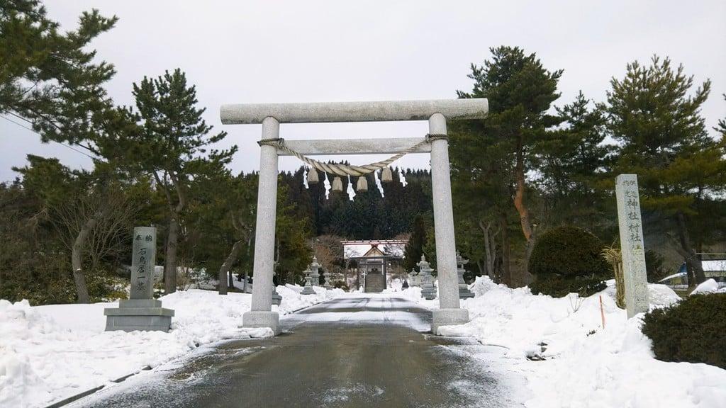 佐女川神社の鳥居