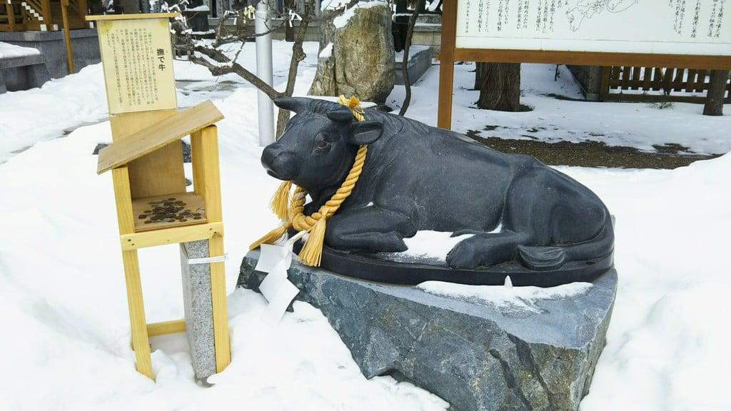 刈田神社の狛犬