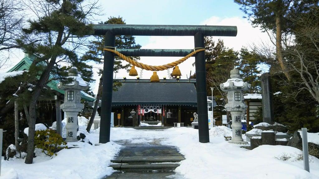刈田神社の鳥居
