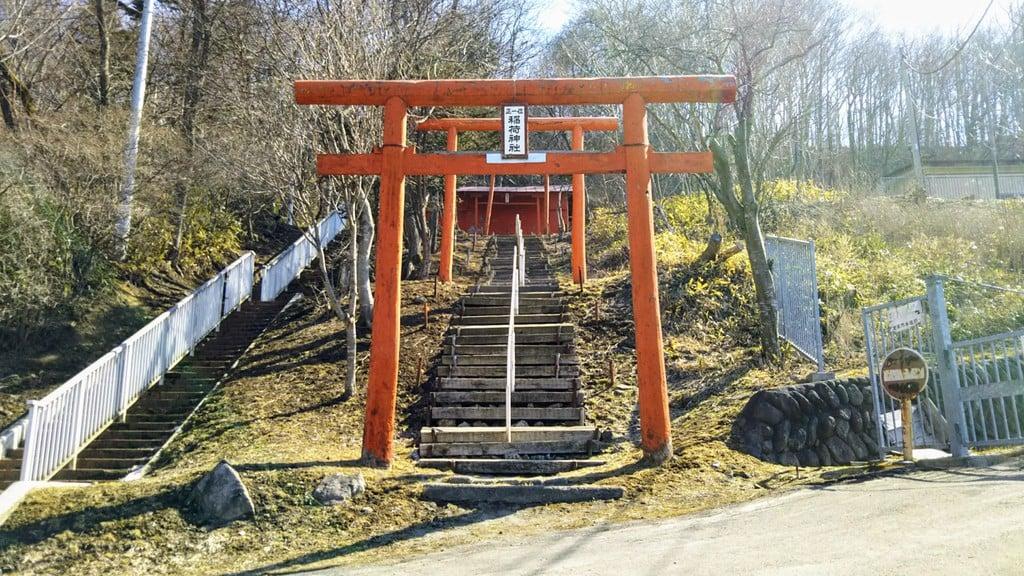 楽山稲荷神社の鳥居