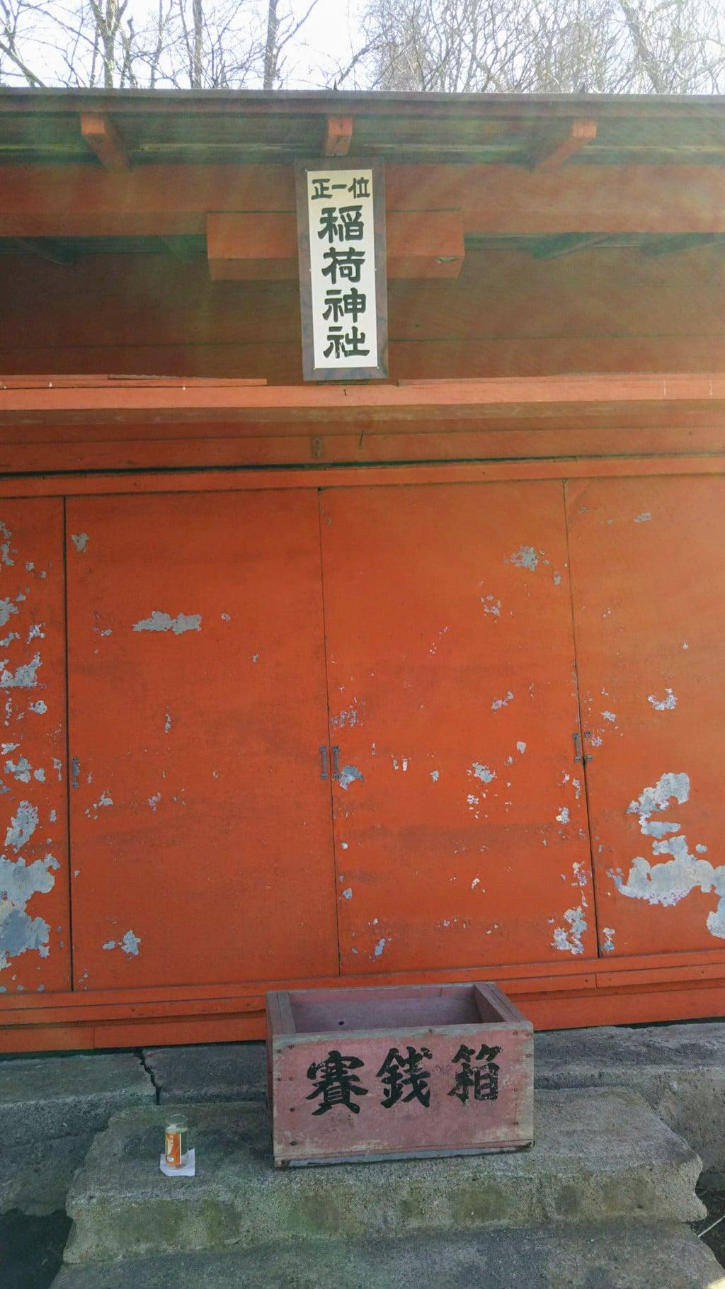 楽山稲荷神社の本殿