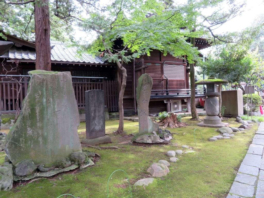 三囲神社(三越神社)の庭園