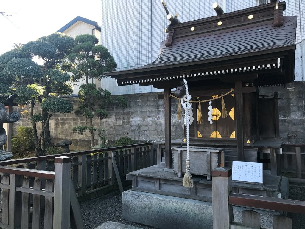 御釜神社の本殿