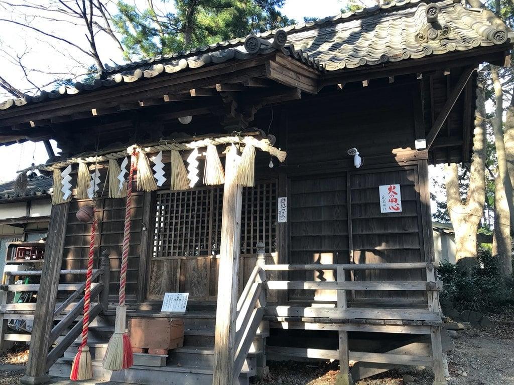 鹿島神社の本殿