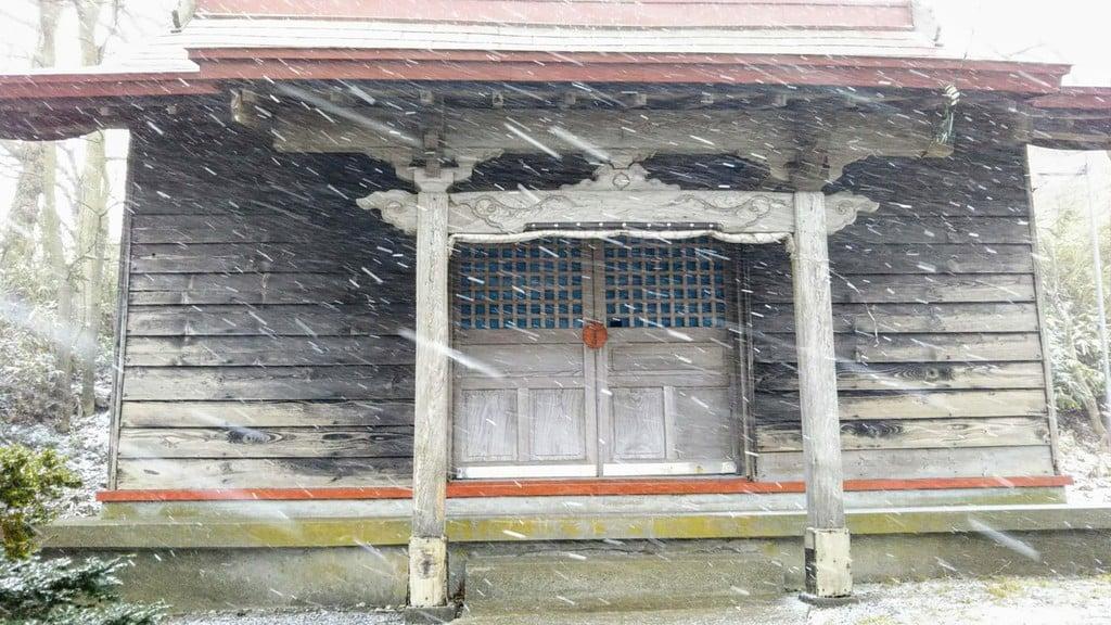 祝津神社の本殿