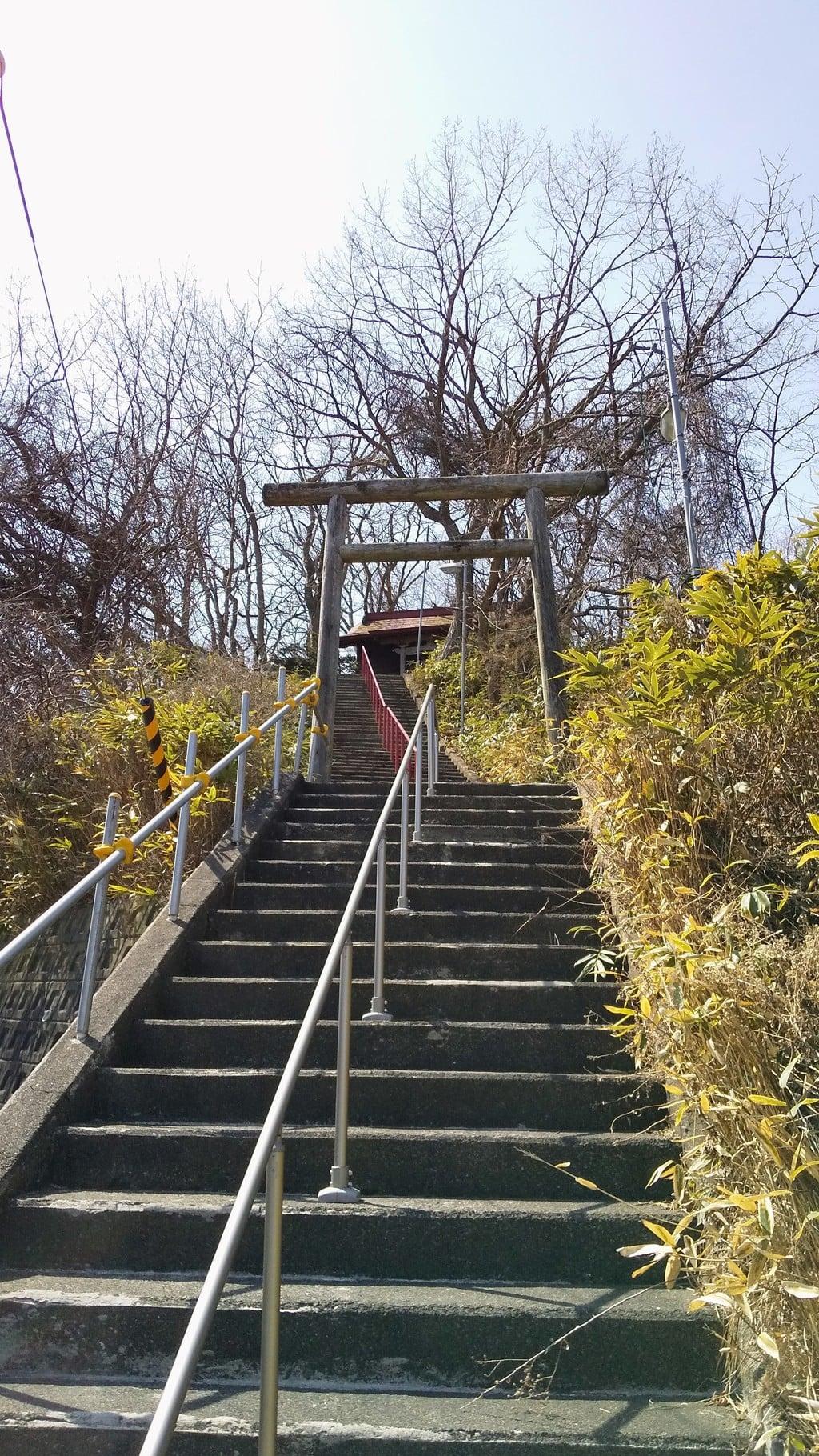 祝津神社の鳥居
