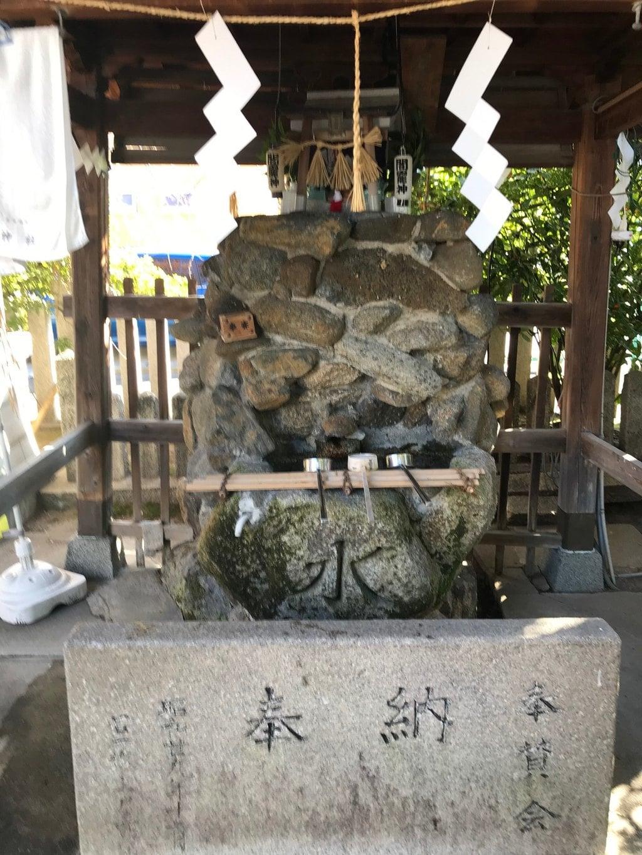 徳庵神社の手水