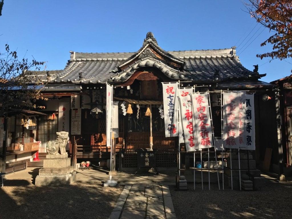 徳庵神社の本殿